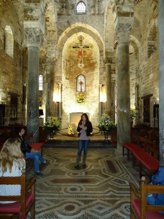 Church of San Cataldo: Chiesa di San Cataldo - Navata Centrale, i mosaici