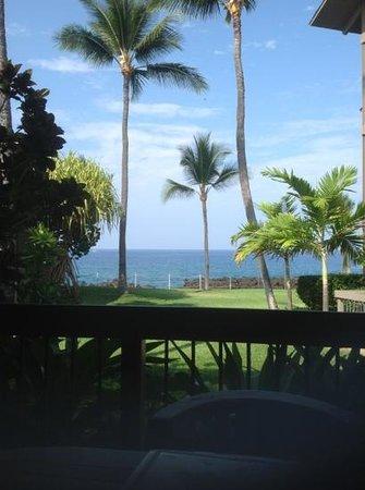 Kanaloa at Kona : Beautiful view from the lanai.