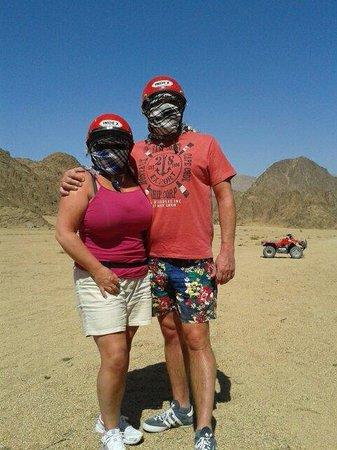 Sinai Safari Adventures : Its very hot in the desert!