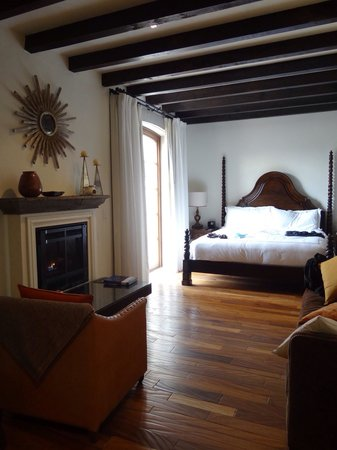 Rosewood San Miguel de Allende : Room #232. Beautiful quiet room with terrace facing towards the side of the property. I believe