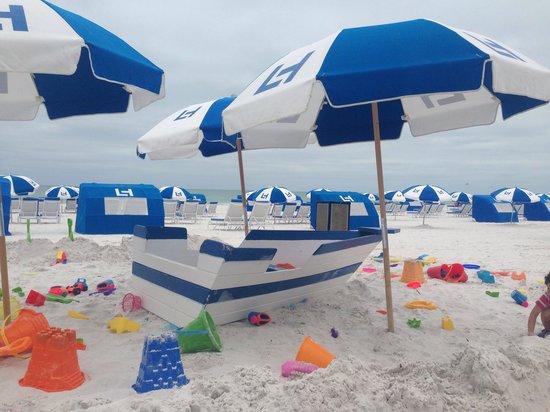 The Don CeSar: The lovely beach