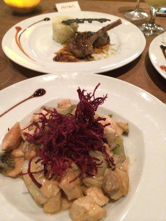 Asiana Restaurant: Comida