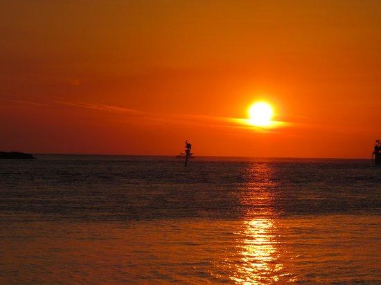 Clearwater Beach: solnedgangen skal opleves