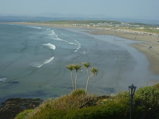 The Gaslight Restaurant and B&B : Rossnowlagh beach