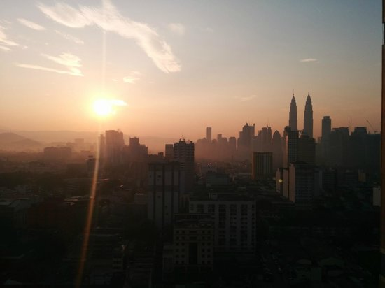 Sunway Putra Hotel : View of the Petronas from the room