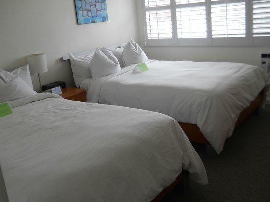 Magic Castle Hotel : 2 queen beds