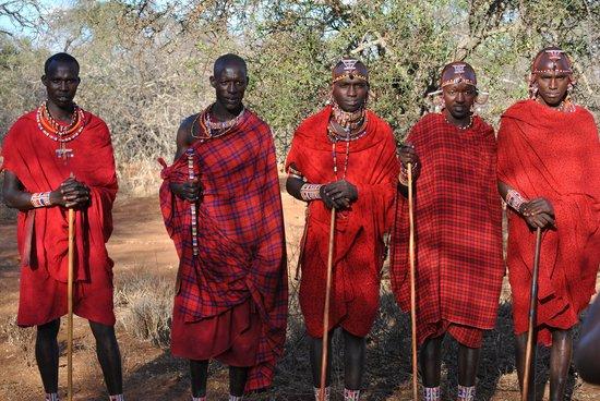 Gamewatchers Adventure Camp, Selenkay : Visit to Masai Village