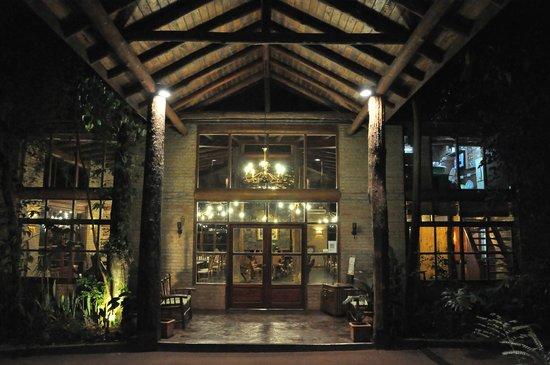 La Aldea de la Selva Lodge: Ingreso