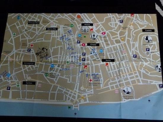 Lisbon Rentals Chiado: plan van de eigenaar
