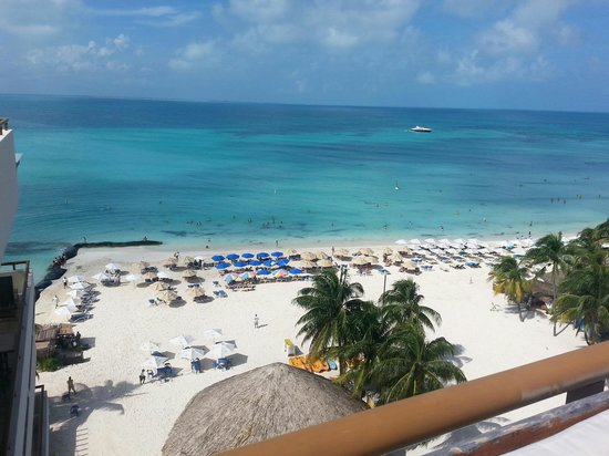 Ixchel Beach Hotel: View from penthouse