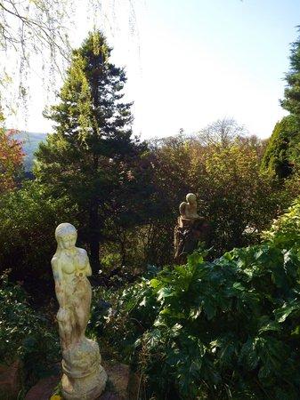 Five Rise Locks Hotel: Garden view