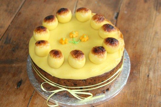 Flurys: Simnel Cake !