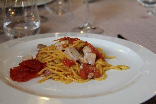 Vecio Macello: Bigoli with fresh tuna