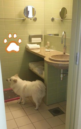 Georg Ots Spa Hotel: bathroom, spartan but clean