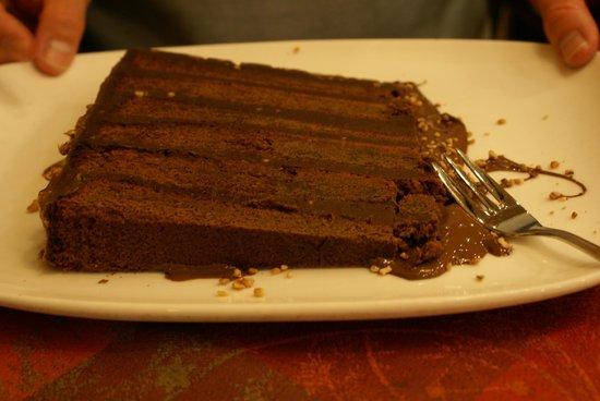 Timothy: gateau au chocolat façon rocher