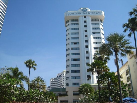 Jomtien Palm Beach Hotel & Resort: отель