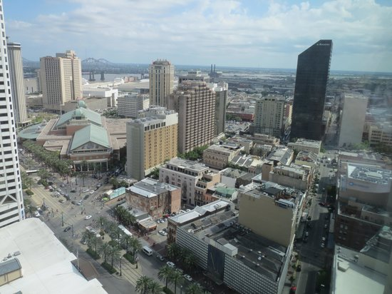 New Orleans Marriott: View from room
