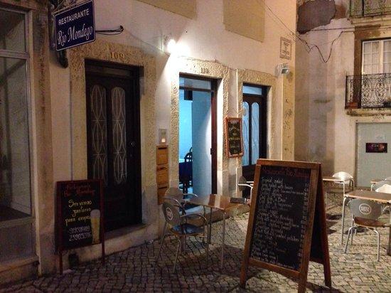Restaurante Rio Mondego : Pour le trouver