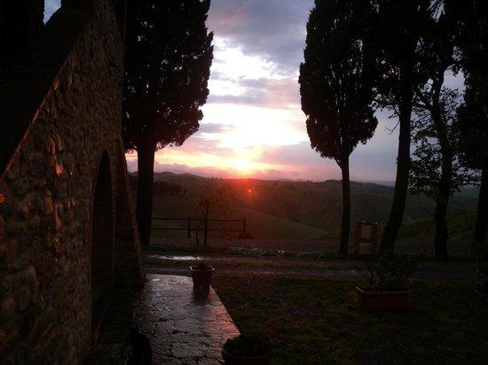 Agriturismo San Giacomo: tramonto