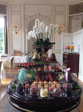 Tiara Chateau Hotel Mont Royal Chantilly : Brunch de Pâques. Chantilly.