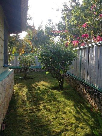Xtabi Resort: cottage 5 garden