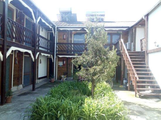 Hostel BazArt: Interior yard