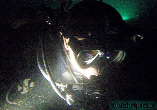 Scuba Tech Philippines: Technical Wreck penetration training