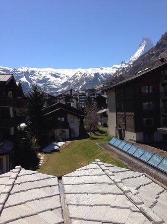 Hotel Mirabeau: Vista desde el balcón