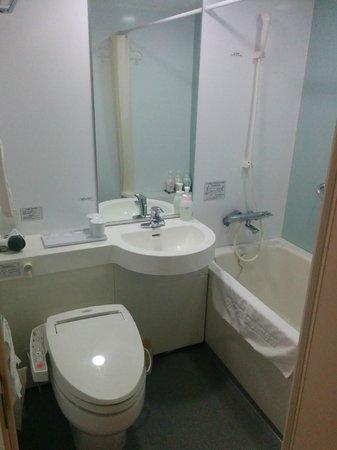 Daiwa Roynet Hotel Tsukuba: Bathroom