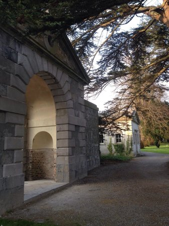 Carton House Hotel & Golf Club : Gateway to the courtyard.