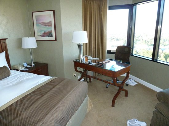 Hilton Los Angeles/Universal City: Room with a view