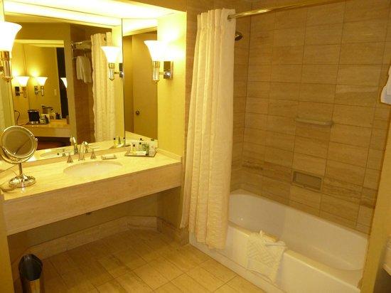Hilton Los Angeles/Universal City: Bathroom