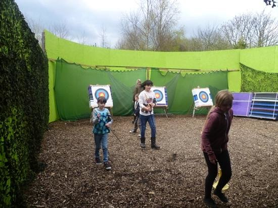 Primrose Valley Holiday Park - Haven: watch out Robin Hood