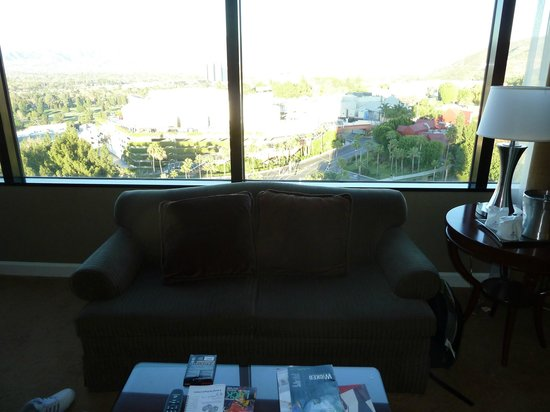 Hilton Los Angeles/Universal City: View from the room