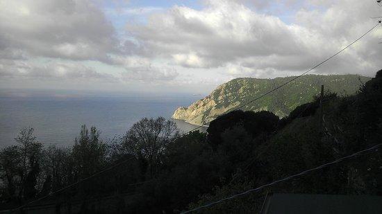 B&B Villa Pietra Fiore : panorama dal balcone