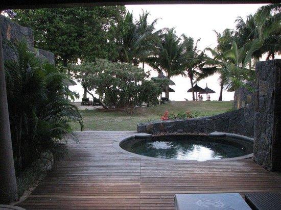 Trou aux Biches Beachcomber Golf Resort & Spa: La vue au réveil