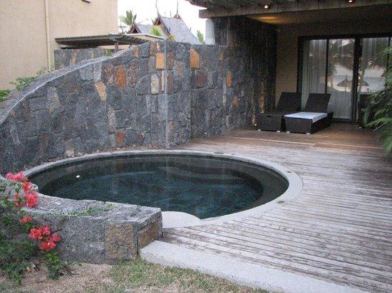 Trou aux Biches Beachcomber Golf Resort & Spa: Piscine privée de la suite