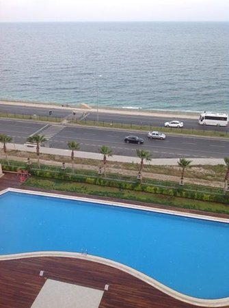 Crowne Plaza Hotel Antalya: view from our balcony