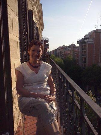 Eric Vökel Sagrada Familia Suites: We like the balcony