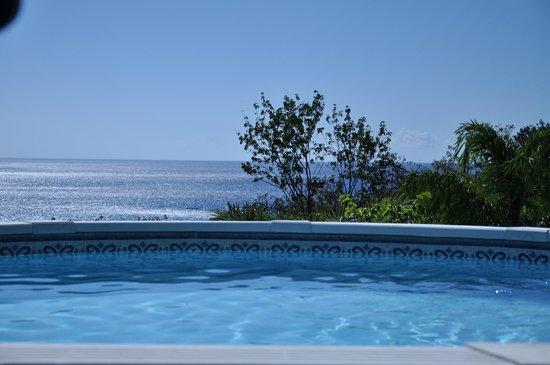 Rochers Caraibes-Eco Village : piscine Gran Kaz