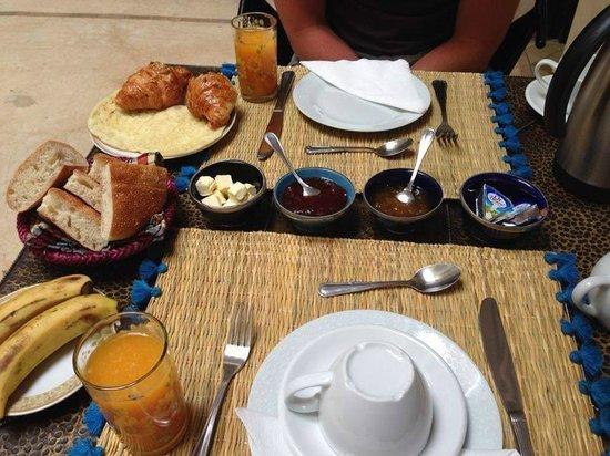 Breakfast at Riad Diana