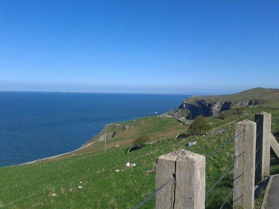 Great Orme: View on way to the top
