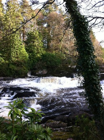 Sheen Falls Lodge : The falls