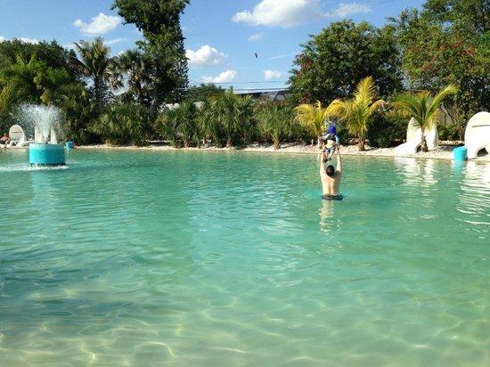Pyramids in Florida: pool