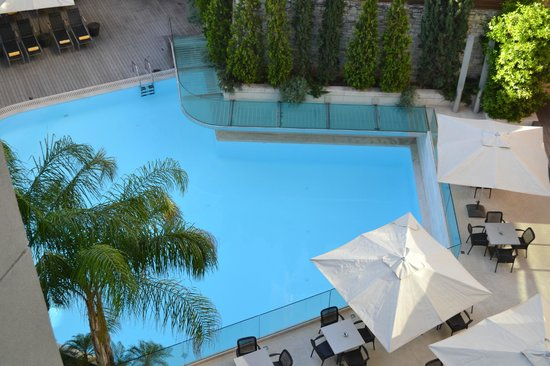 Galaxy Hotel Iraklio: θέα από το δωμάτιό..