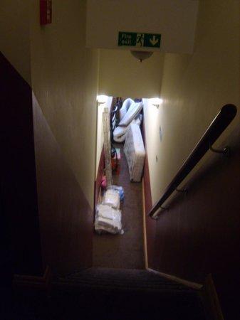 St Joseph Hotel : fire exit