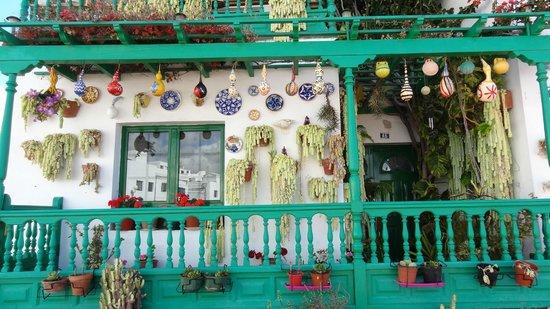 Occidental Lanzarote Mar: maison décorée