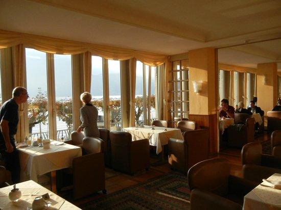 Hotel Walter au Lac: Завтрак в отеле