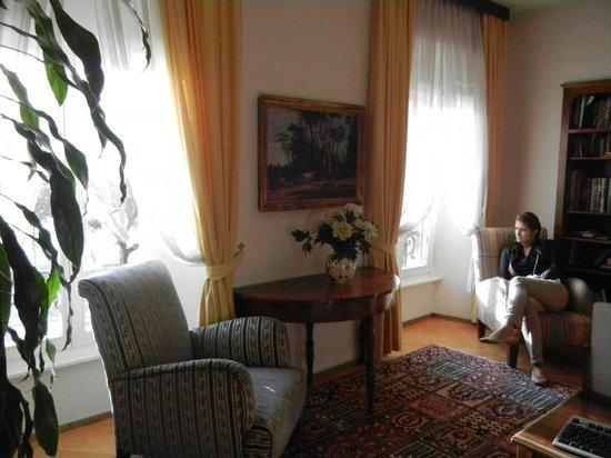 Hotel Walter au Lac: Интерьер номера