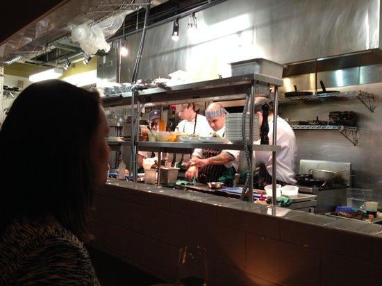 Richmond Station: 'a peek in the kitchen'